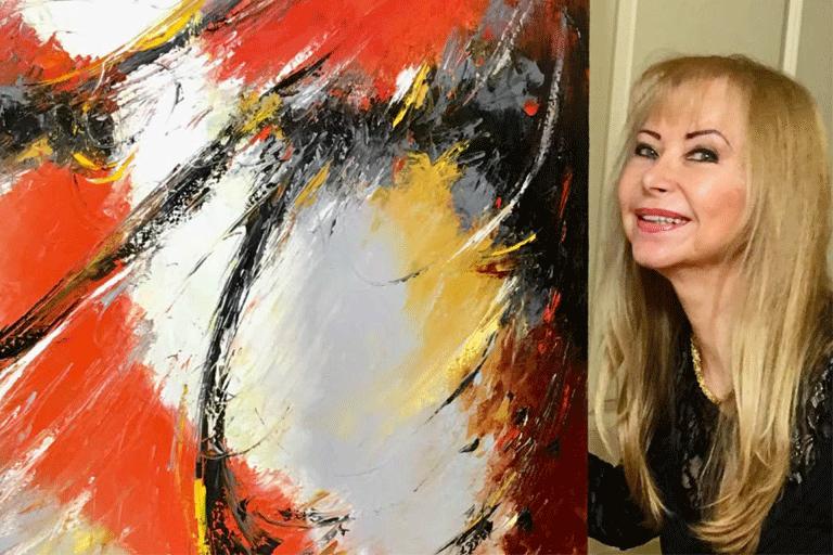 Miroslava Lipovec Friedman Hugo Bejar - Marcelas Village Art Gallery - San Francisco Bay Area