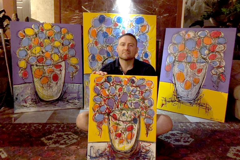 Igor Muskatblit - Marcelas Village Art Gallery - San Francisco Bay Area